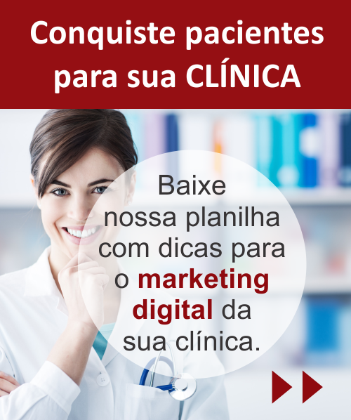planilha marketing digital para clínicas