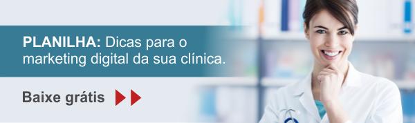 Planilha com dicas para o marketing digital da sua clínica